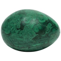 Green Malachite Sculpture Decorative Object