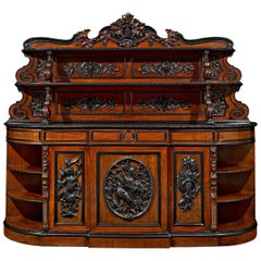 French Mahogany Sideboard