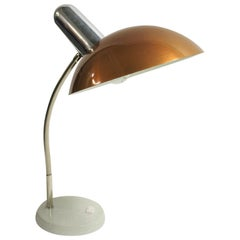 Vintage Brown Desk Lamp, 1970s