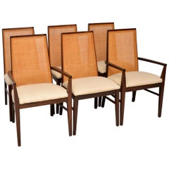 1960s Set of 6 Wood Dining Chairs by Dyrlund