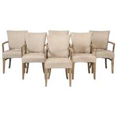Set of 6 Dining Armchairs