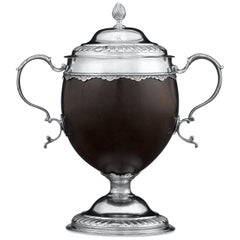 George III Silver Mounted Coconut Cup