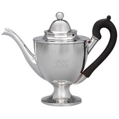 American Silver Teapot by Paul Revere