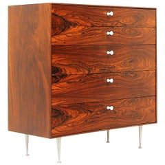 """Thin Edge"" Rosewood Chest of Drawers by George Nelson for Herman Miller"