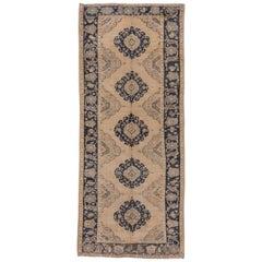 Turkish Neutral Oushak Carpet, Circa 1920s