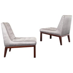Dunbar Slipper Chairs by Edward J. Wormley