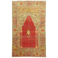19th Century Turkish Sivas Prayer Rug