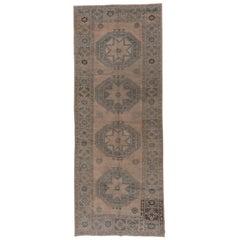 Antique Turkish Oushak Carpet, Circa 1930s