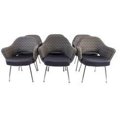 6 Saarinen Executive Armchairs