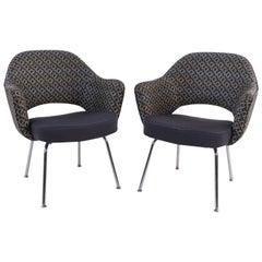 Pair of Saarinen Executive Armchairs