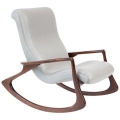 Stunning Vladimir Kagan Contour Rocking Chair