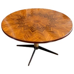 High Low Side Table, Italy, Midcentury