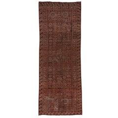 Fantastic Antique Beshir Gallery Carpet