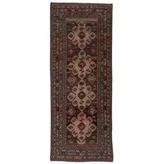 Antique Tribal Caucasian Carpet, Circa 1910s