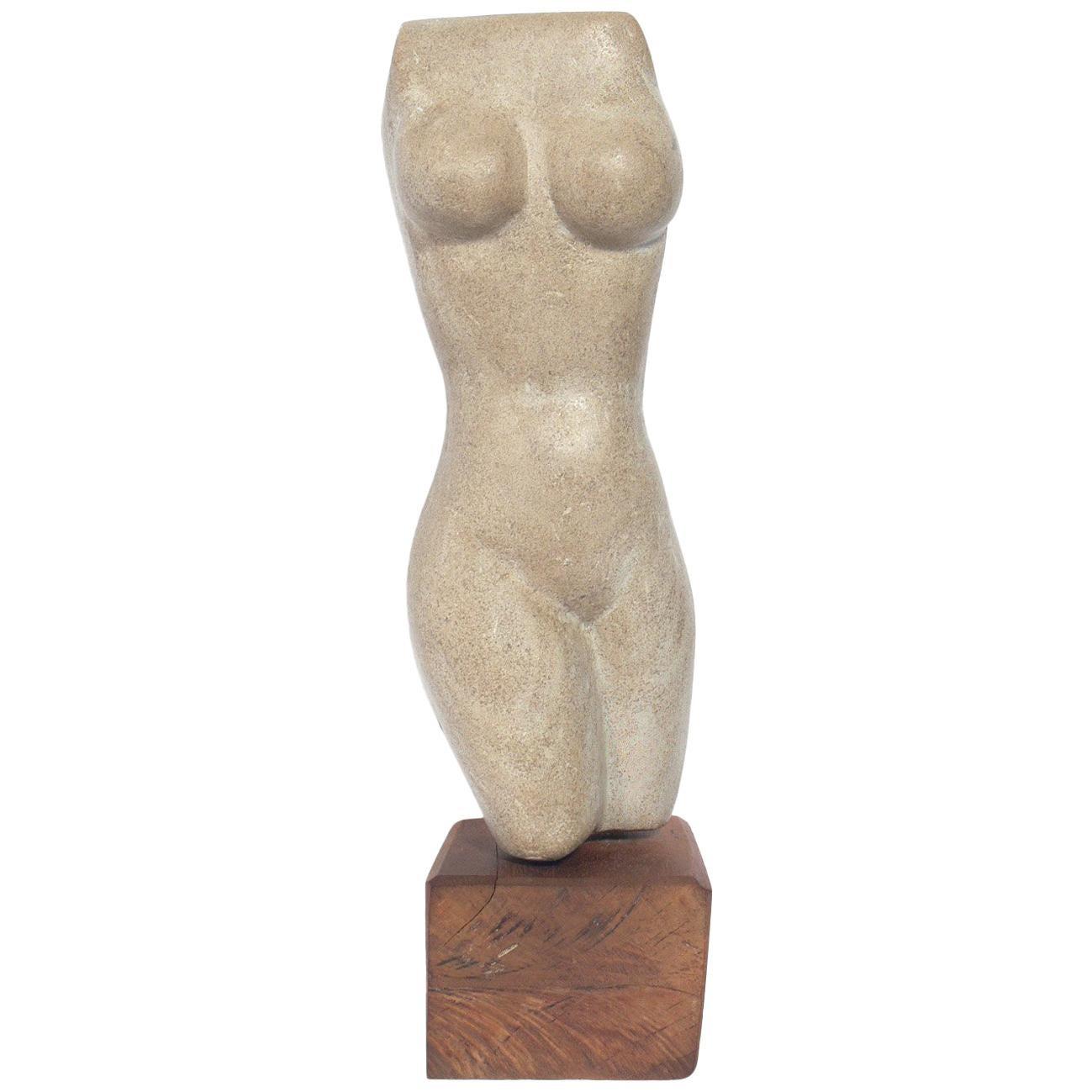 Female Nude Stone Sculpture