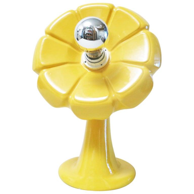 Il Picchio Flower Lamp by Enzo Bioli, 1960s For Sale