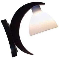 Unusual German Modernist 'Moon' Hybrid Table or Wall Lamp