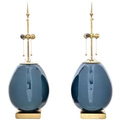 Pair Thomas O'Brien for Visual Comfort Ciro Table Lamps