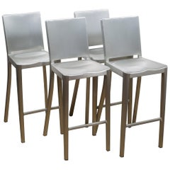 Emeco Hudson Bar Stools by Philippe Starck