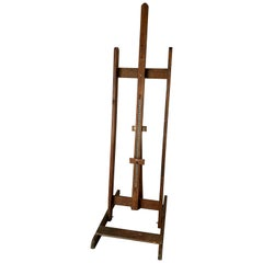 Vintage Wooden Painting Easel