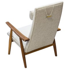 "Easy Chair ""GE-260"" High Back by Hans J. Wegner, GETAMA, Denmark, 1960s"