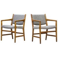 """""""JH507"""" Armchairs Designed by Hans J. Wegner, Johannes Hansen, Denmark, 1950s"""