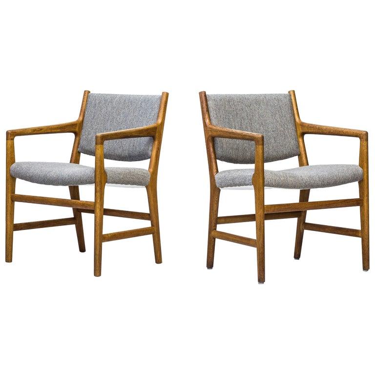 """""""JH507"""" Armchairs Designed by Hans J. Wegner, Johannes Hansen, Denmark, 1950s For Sale"""