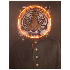 Tiger Neon Wall Decoration