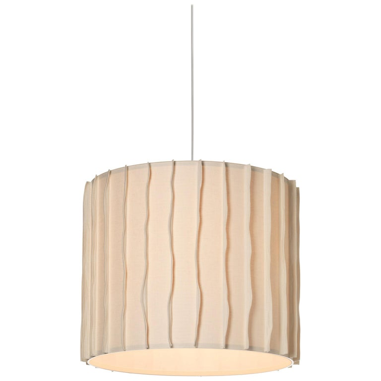 Foscarini Pylon Suspension Lamp in Ivory by Diesel For Sale