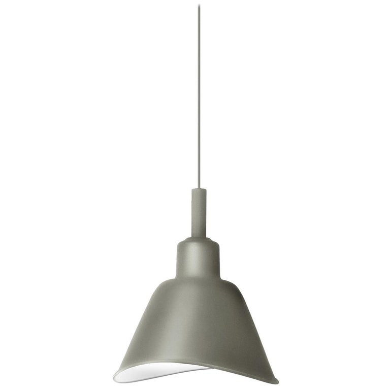 Foscarini Smash Suspension Lamp in Grey by Diesel For Sale