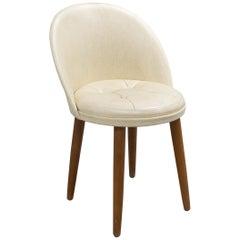 Mid-Century Scandinavian Vanity Chair
