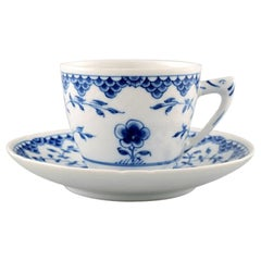 Bing & Grondahl/B&G, Butterfly. Set of 10 Coffee Cups with Saucers