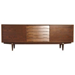Oak Midcentury No. 65 Sideboard by Skovby Mobler, Denmark, 1960s