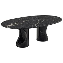Black Marble Postmodern Coffee Table