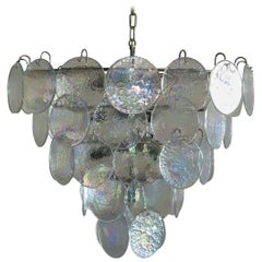High Quality Murano Chandelier Space Age 50 Iridescent Glasses