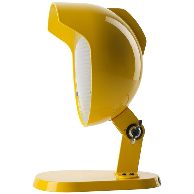 Foscarini Duii Mini Table Lamp in Yellow by Diesel For Sale