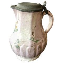 Daniel Franciscus Collier 1724-1779 Puter Stoneware Drinking Bowl