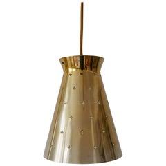 Lovely Mid-Century Modern Diabolo Pendant Lamp by Hillebrand, 1950s, Germany