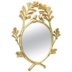 Gild Mirror with Birds