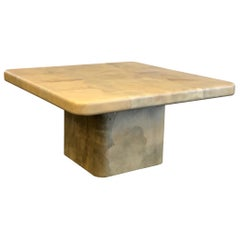 Goatskin Dining Table by Karl Springer