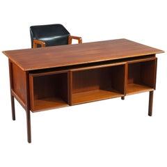 Midcentury Desk and Armchair by Arne Vodder Pour Sibast, Denmark