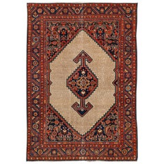 Early 20th Century Scatter Hamadan Rug