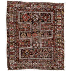 Antique Square Shirvan Rug