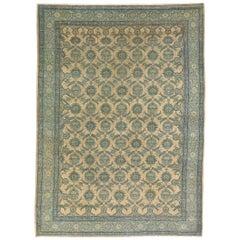 Early 20th Century Persian Tabriz Rug