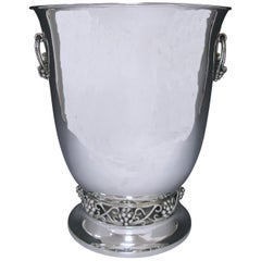 Mexican Sterling Silver Wine Cooler