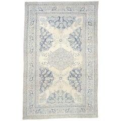 Antique Persian Tabriz Cotton Rug