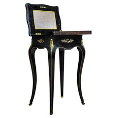 19th Century Napoleon III Mahogany Sewing Table