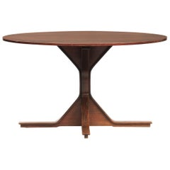 Gianfranco Fratinni Rosewood Dining Table, Model 522, for Bernini