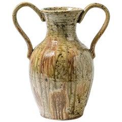 Stoneware Vase by Lucien Talbot, circa 1950