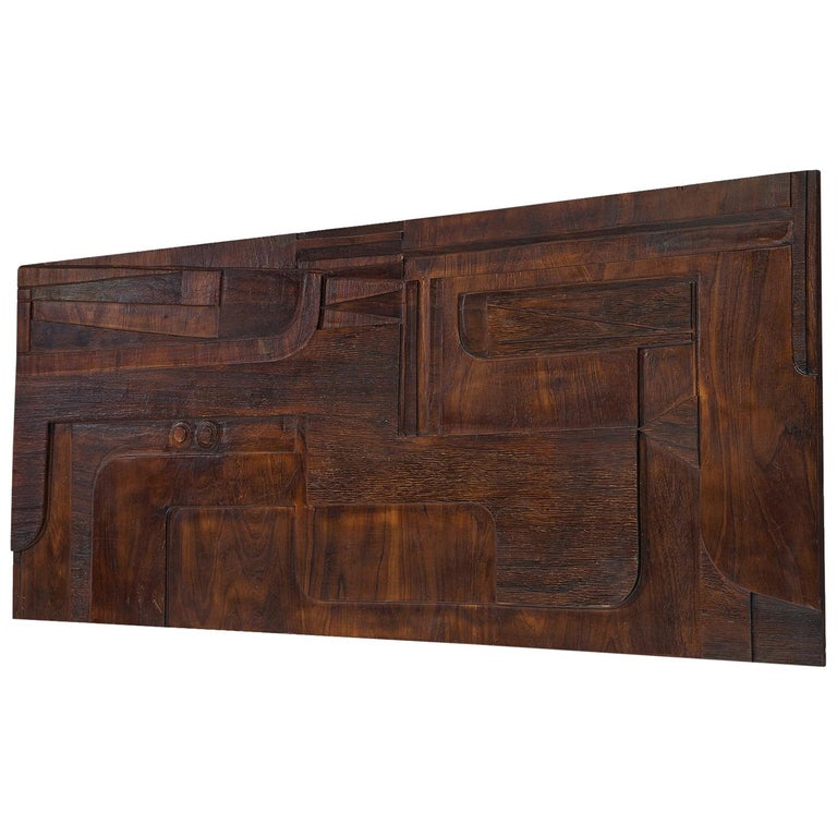 Nerone and Patuzzi for Gruppo NP2 Sculptural Wall Panel For Sale
